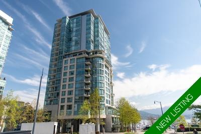 Coal Harbour Condo for sale: Denia at Waterfront Place 1 bedroom  Stainless Steel Appliances, Granite Countertop, European Appliance, Glass Shower, Hardwood Floors 1,225 sq.ft. (Listed 2019-05-27)