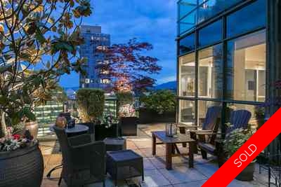 Coal Harbour Condo for sale:  2 bedroom 1,600 sq.ft. (Listed 2017-06-08)
