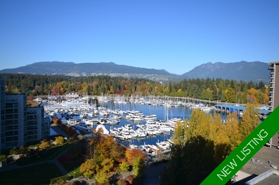 Coal Harbour Condo for sale:  2 bedroom 1,494 sq.ft. (Listed 2017-10-18)